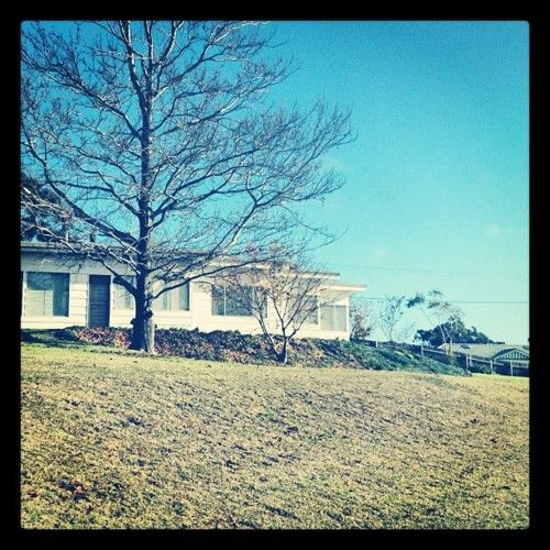 Eden house #Eden NSW #winter house