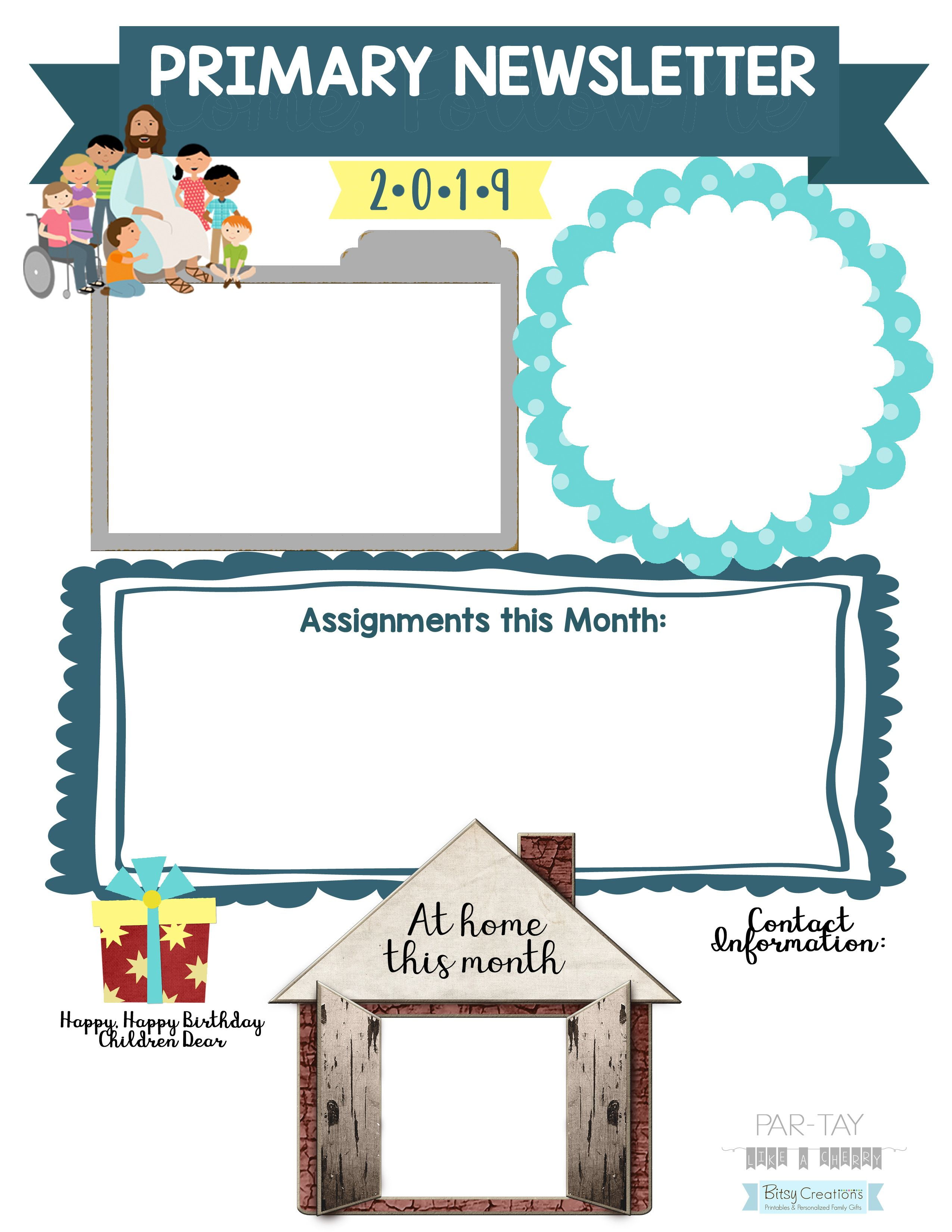 b33578446f90365e63e215ee01c3ad54  Primary Newsletter Templates Pdf on create your own printable, hr employee, lds relief society, chino california, cover design, february responsive classroom, safety box winter,