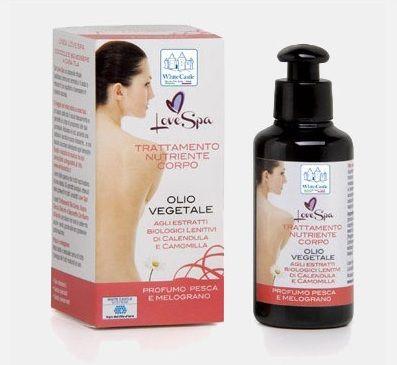 Prodotti White Castle - olio da corpo vegetale agli estratti biologici lenitivi di calendula e camomilla - www.whitecastle.it