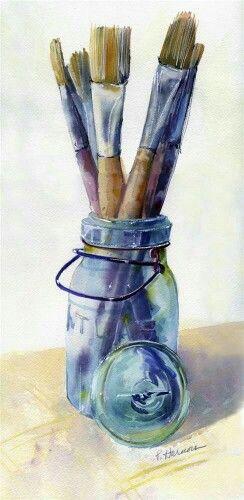 Artist Brushes Image By Obwoge Ogenche On Color Pallets