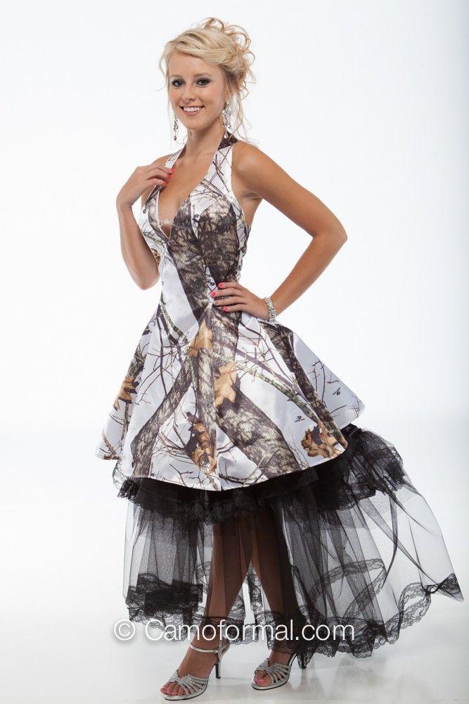 Short Camo Prom Dresses   3656 short camo prom dress with retro net ...