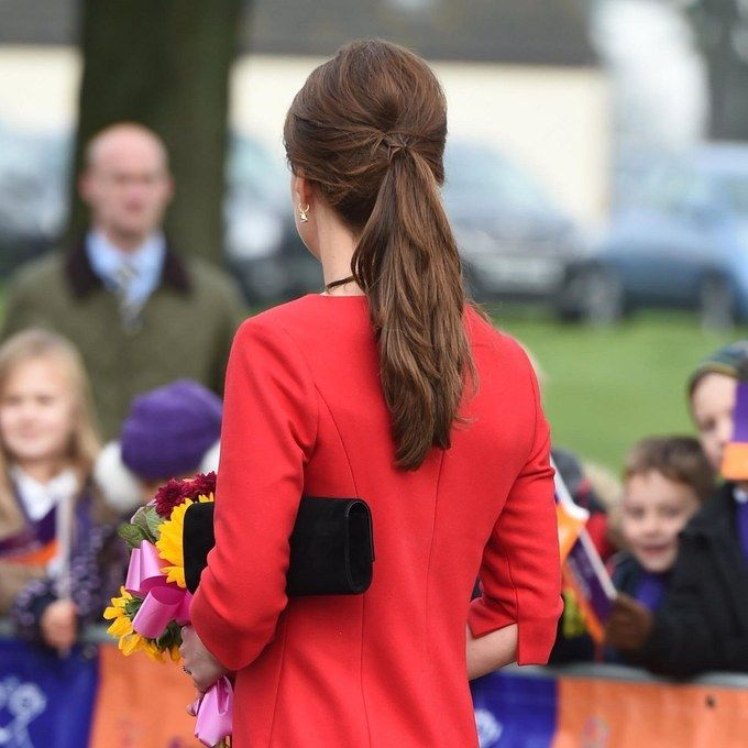 Shhhtheres A Secret To Getting The Elegant Ponytail Kate