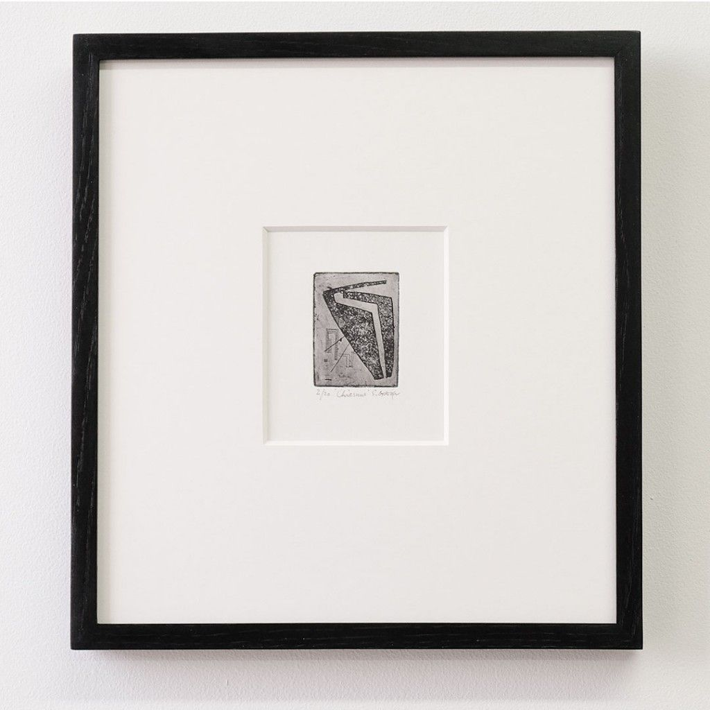 Framing A Small Etching Small Framed Art Framed Postcards Painting Frames