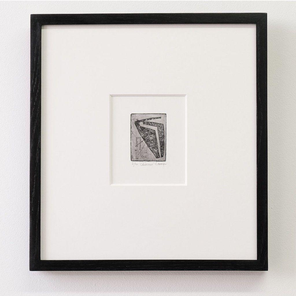 framing a small etching | Art - Framing | Pinterest | Swans
