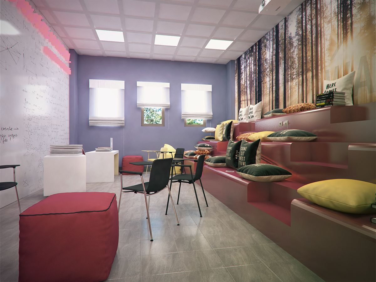 Youth center in SaintPetersburg, 2016 on Behance di 2020