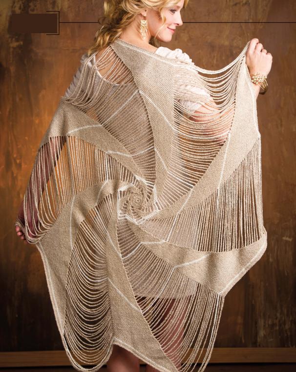 Patrones Crochet: Capa Tejida Araña Instrucciones | Pretty knit ...