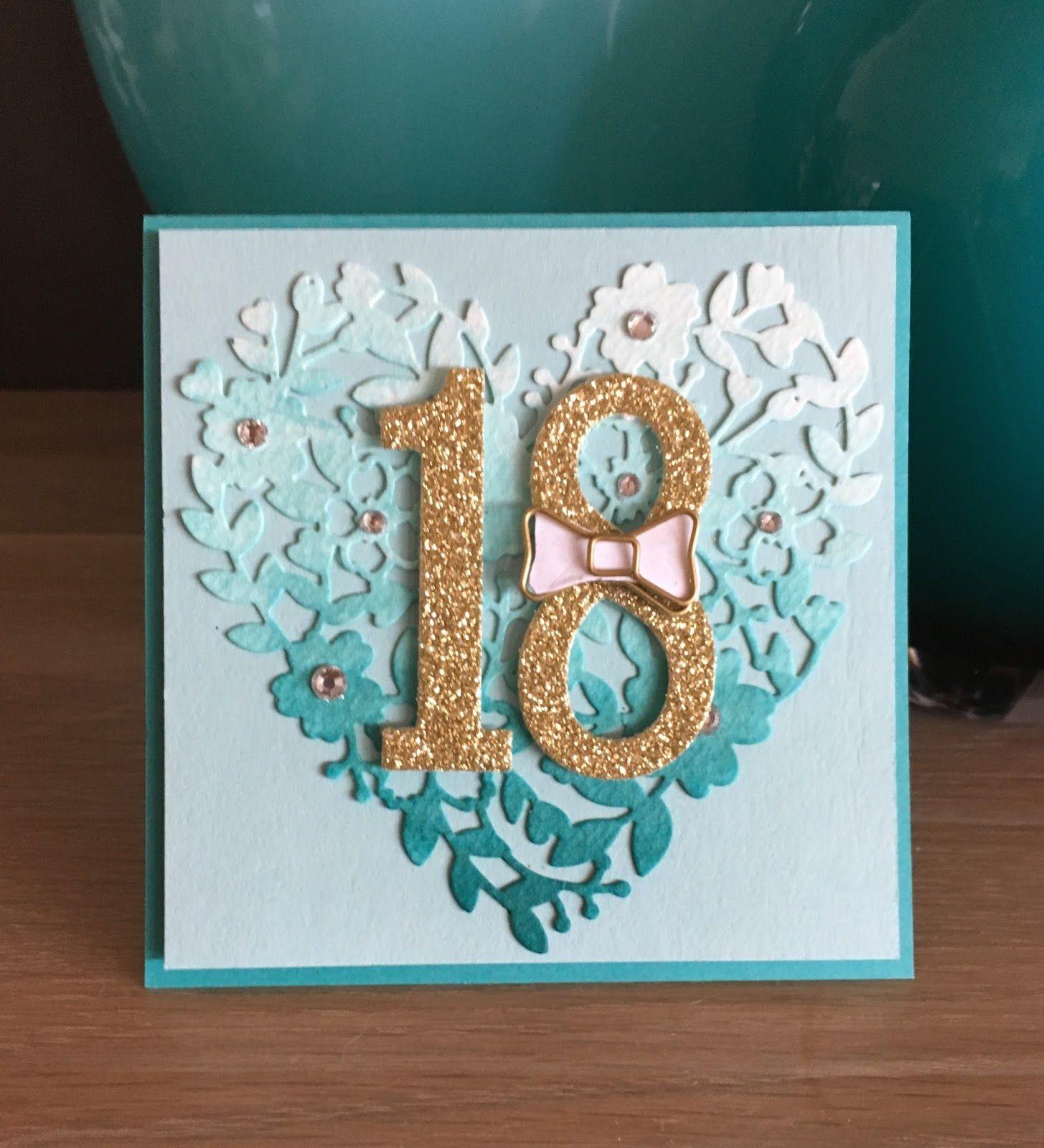 Bloomin love 18th birthday 18th birthday cards