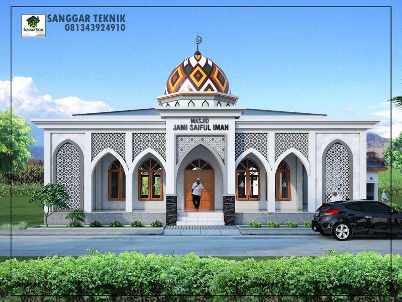 Mesjid Al Ikhlas Sogaya Gambar Arsitektur Mesjid Arsitektur
