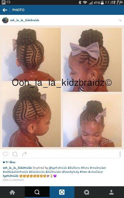 Pin by Just Me on Kiddie Styles &Cornrows | Pinterest | Kid ...
