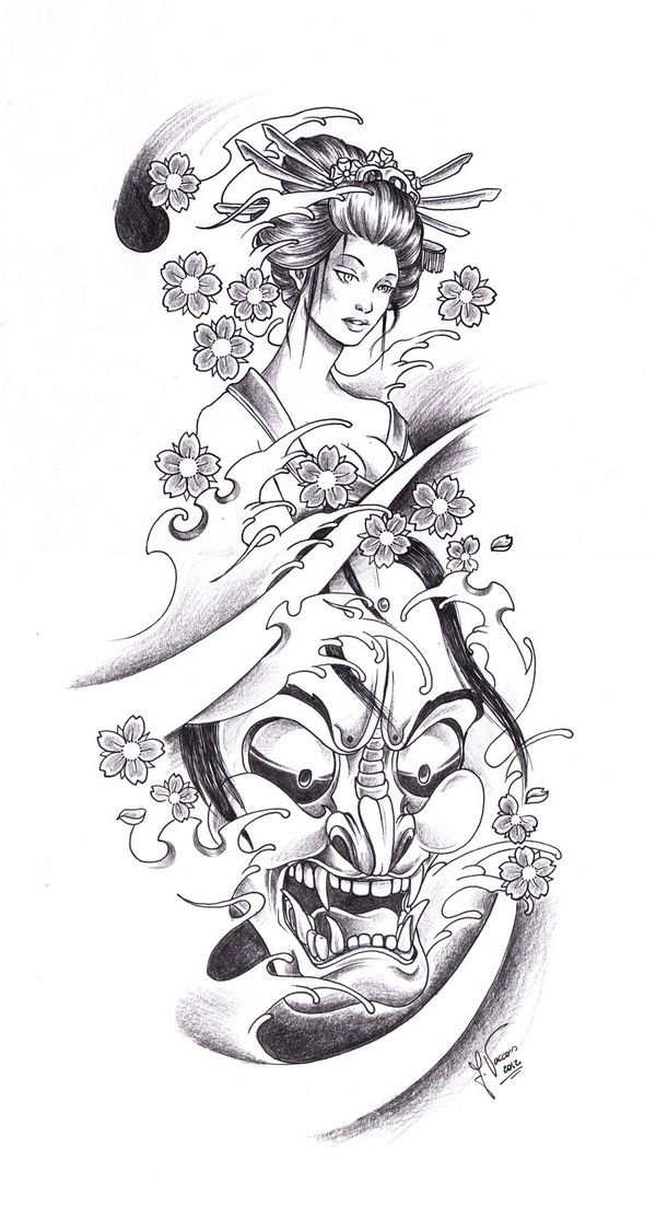 52 Japanese Geisha Tattoo Designs And Drawings With Images Geisha Tattoo Design Tattoo Arm Designs Japanese Tattoo Designs