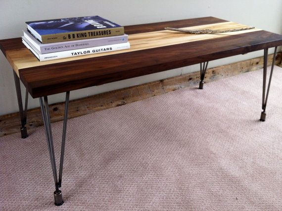 Modern/urban style coffee table featuring black by scottcassin, $395.00