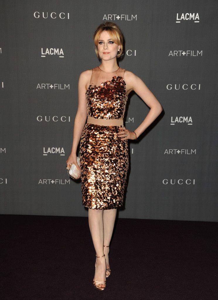 Evan Rachel Wood at LACMA gala