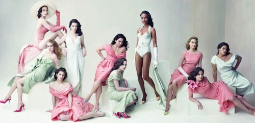 Photographed By Annie Leibovitz For Vanity Fair March 2008