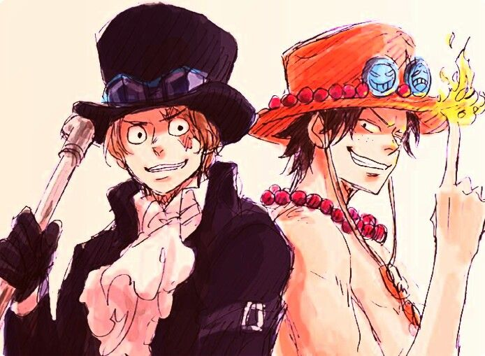 Portgas D. Ace and Sabo One piece