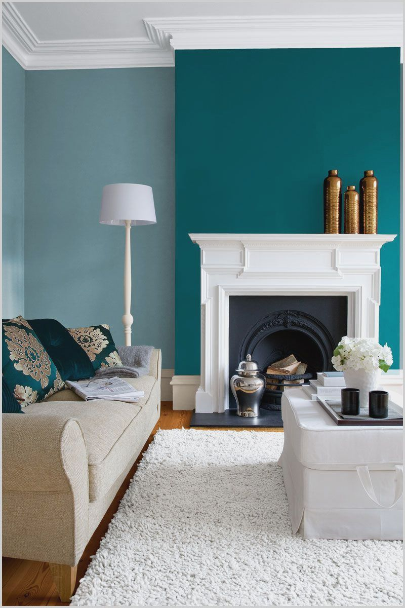 Living Room Teal Wall Paint In 2020 Living Room Turquoise Accent Walls In Living Room Feature Wall Living Room #teal #wall #decor #for #living #room
