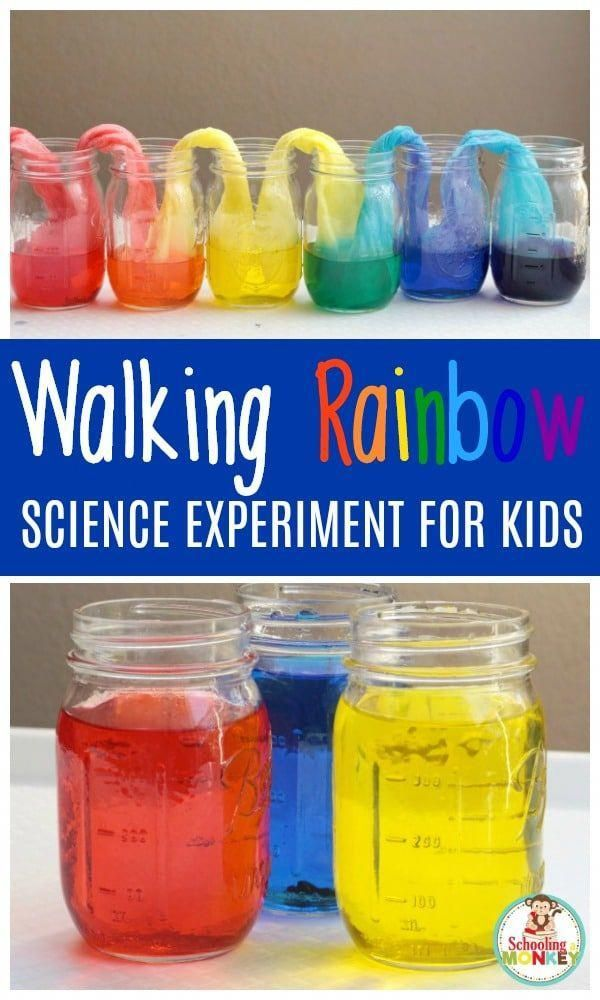 Kids will love making their very own walking rainbow from just three colors. This amazing walking ra...