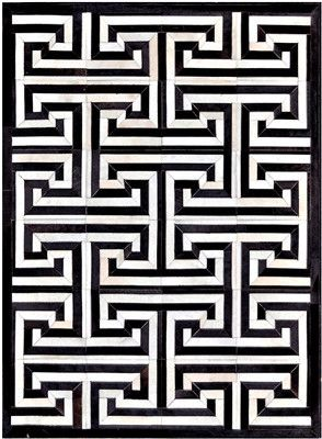 The Black And White Geometric Greek Key Design Of This Bold Pattern Can Add Incredible Flair