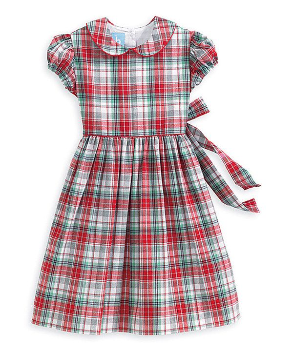 Look what I found on #zulily! Red Tartan Grace Dress - Infant, Toddler & Girls by bella bliss #zulilyfinds