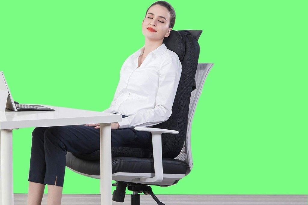 Snailax Shiatsu Massage Seat Cushion With Heat In 2020 Good Massage Neck And Back Massager Shiatsu Massage