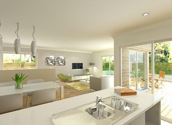 Sekisui House Australia Designs Hikari 250 Open Plan Living