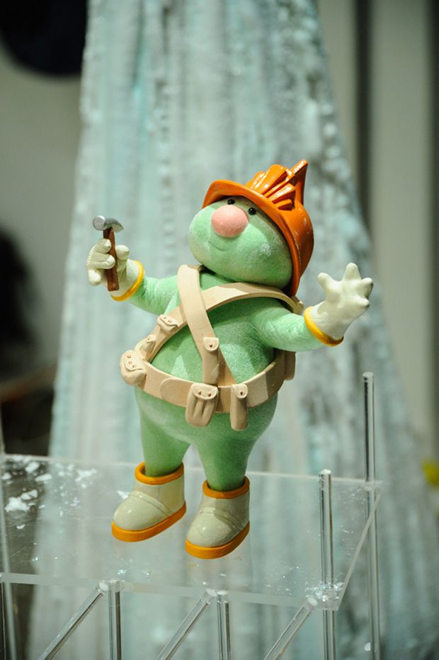 A Doozer...one of my favorite characters from Fraggle Rock ...