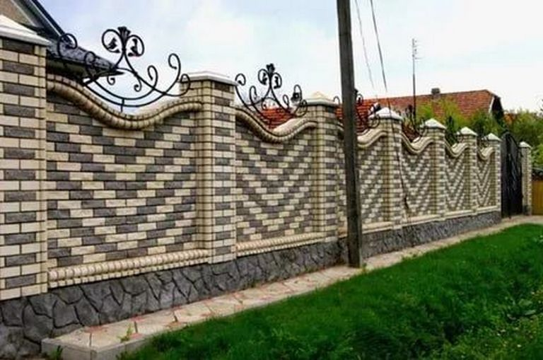 50+ Awesome Modern Fence Design_53