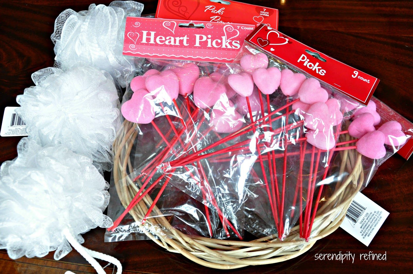 Valentines Day Dollar Tree Heart Wreath By Serendipity Refined