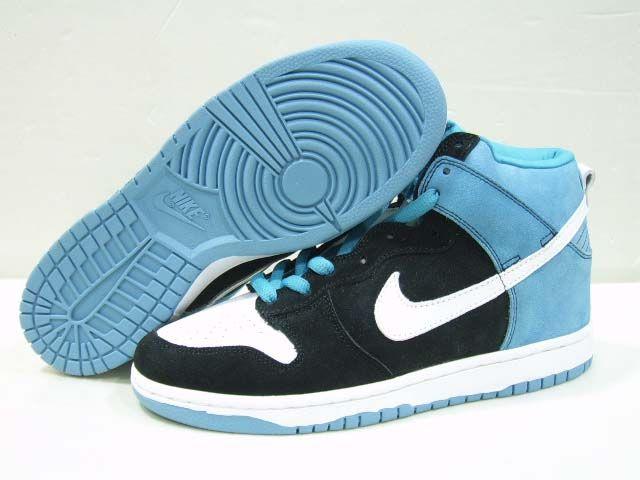 Nike Dunk SB High Womens Send Help Black Blue | Nike dunks