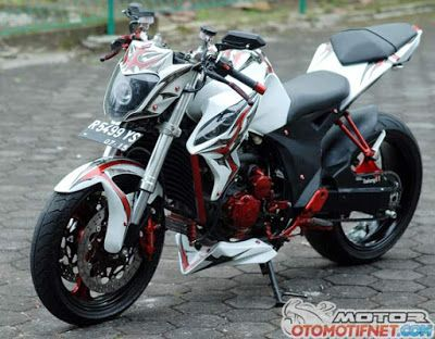 Foto Modifikasi Motor Yamaha Scorpio Z 225cc 2008   Foto