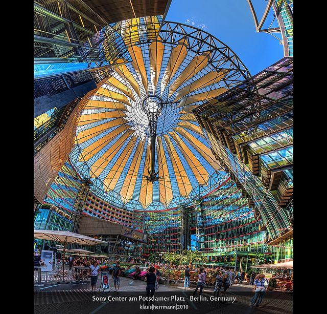 Sony Center am Potsdamer Platz - Berlin, Germany