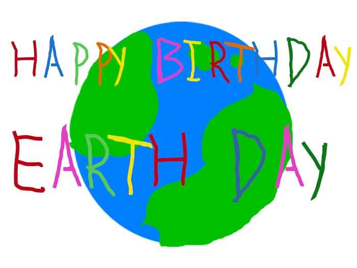 Happy Birthday Earth Day Illustrations Kenneth Buddha Jeans For