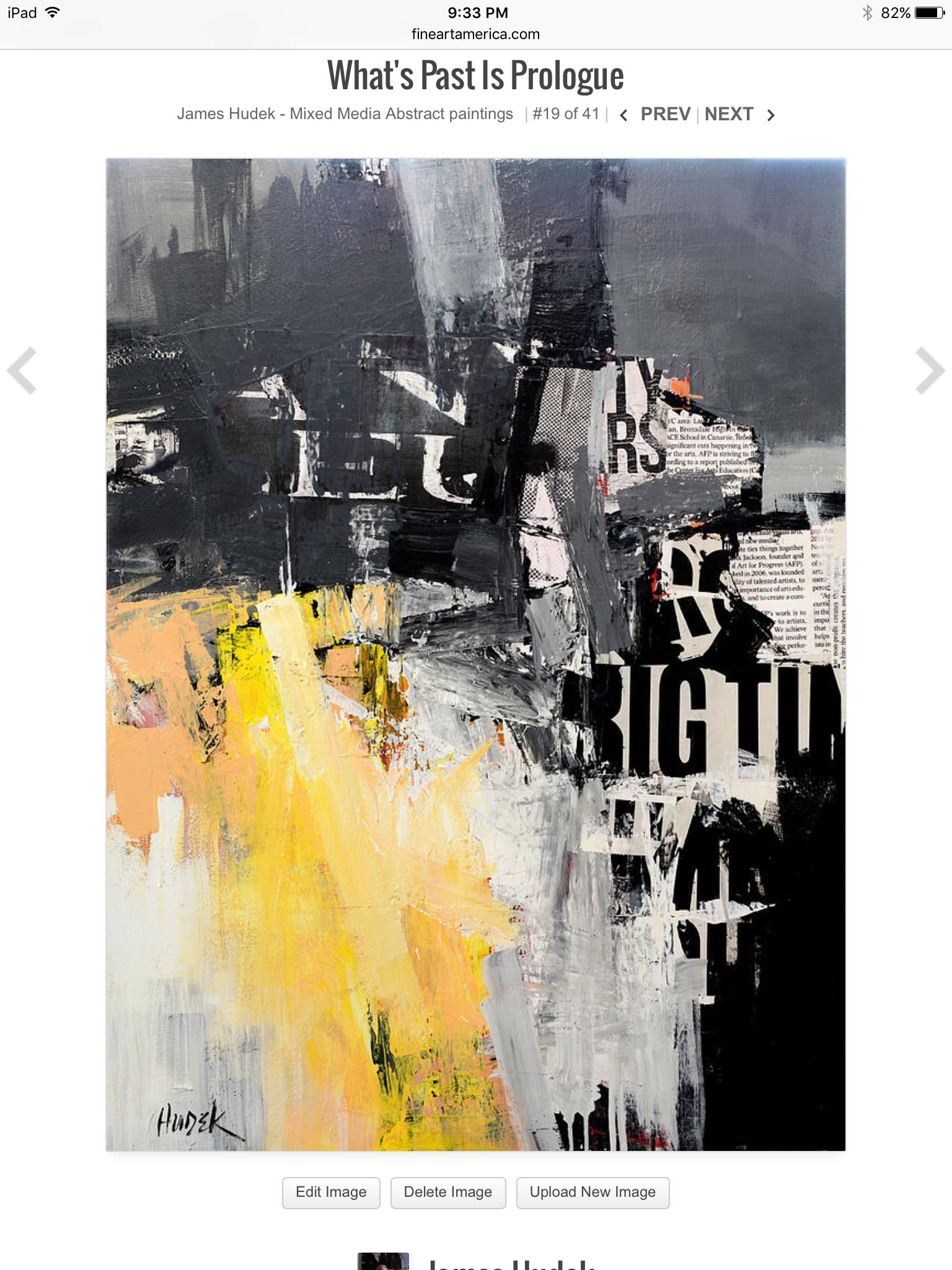"""""""What's Past is Prologue"""" mixed media abstract on gallery wrapped canvas by Houston Artist, Jim Hudek. www.hudekart.com"""