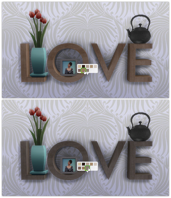 My Sims 4 Blog: OM's Love Sculpture Recolors by 13Pumpkin31