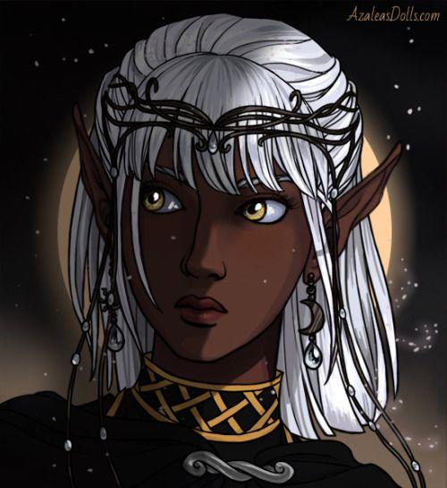 My Snobby Noble Drowmoon Elf Rogue Orathea Dnd Orathea Moon