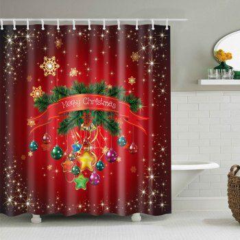 Christmas Hanging Socks Polyester Waterproof Shower Curtain. Cheap Bathroom  AccessoriesChristmas ...
