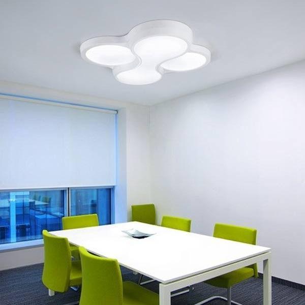 DESCUENTOS - OFERTAS - OUTLET Plafón blanco fluorescente lámpara ...