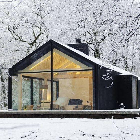 Dream Winter Cabin Via Modernica