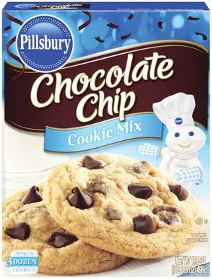 Pillsbury ™ Chocolate Chip Cookie Mix | Cookies in 2019 ... Oatmeal Chocolate Chip Cookies Packaging