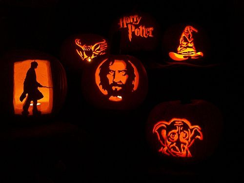 26 Jack-O\'-Lanterns Inspired by Your Favorite Books | Harry potter ...