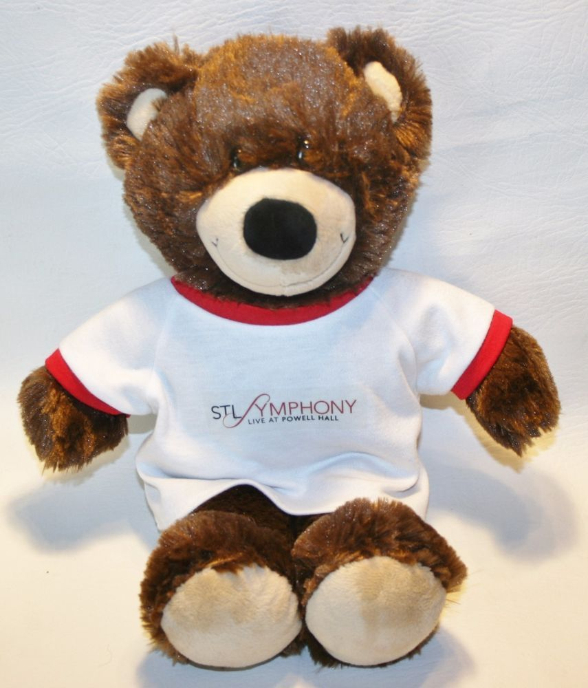 Build A Bear Stl Symphony Live At Powell Hall Brown Teddy Bear 15