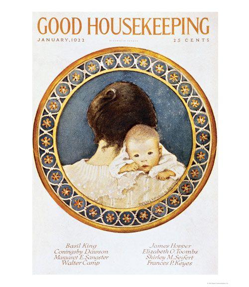 Good Housekeeping magazine cover, January 1922 Buy Good Housekeeping covers  - GoodHousekeeping.com
