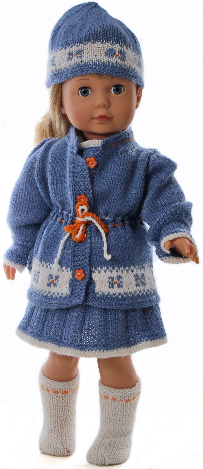 Gebreide poppenkleertjes - Uw pop zal er super uitzien in deze ...