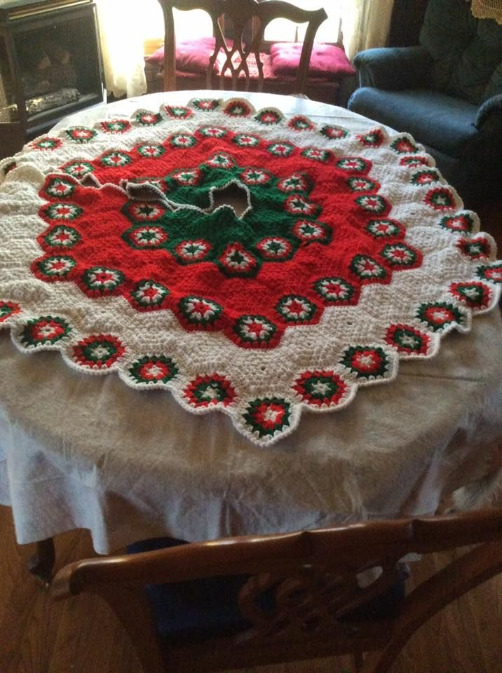 Top 12 Crochet Tree Skirts Of The Year!