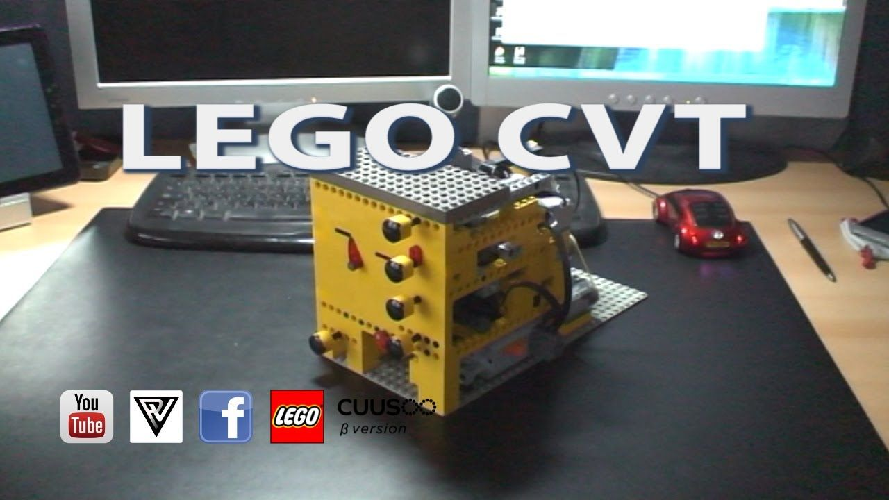 LEGO CVT continuously variable transmission