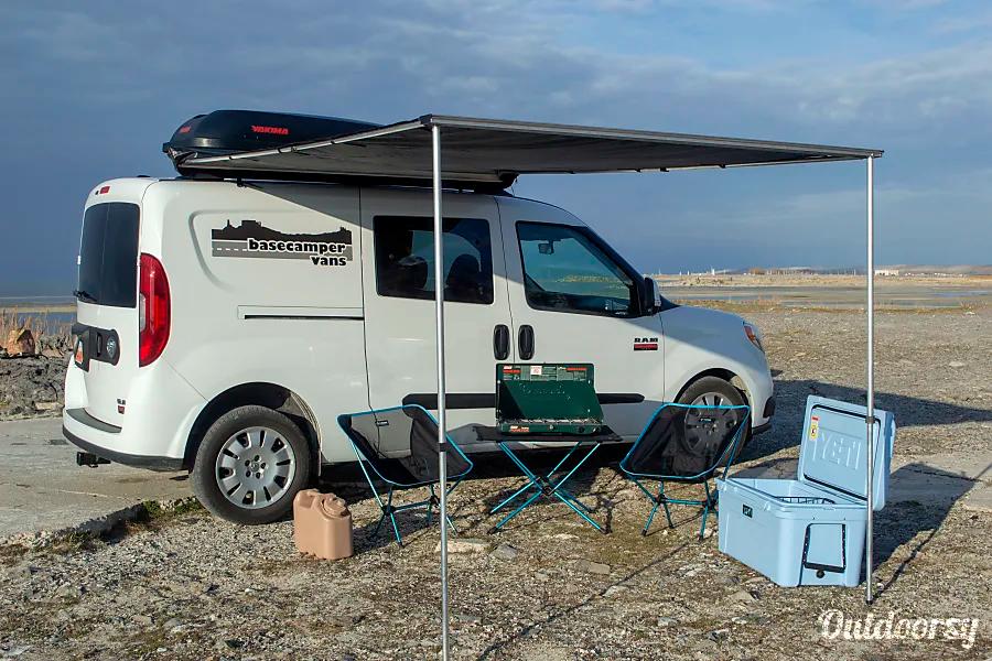 2018 Ram Promaster City Motor Home Camper Van Rental In Salt Lake City Ut Outdoorsy Campervan Van Conversion Awning Van