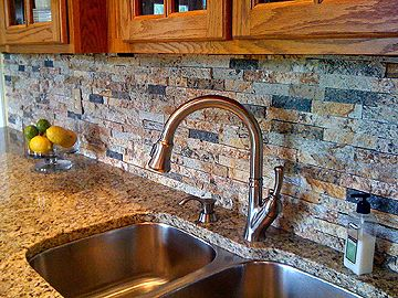 These Are Solid Recycled Granite Split Stone Mosiac Tiles Eco Friendly And Leed Qualifying They Are Handmade And Created From Leftover Granite Remnants