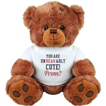 Cute Ways To Ask Her To Prom. Valentines Teddy BearValentine ...