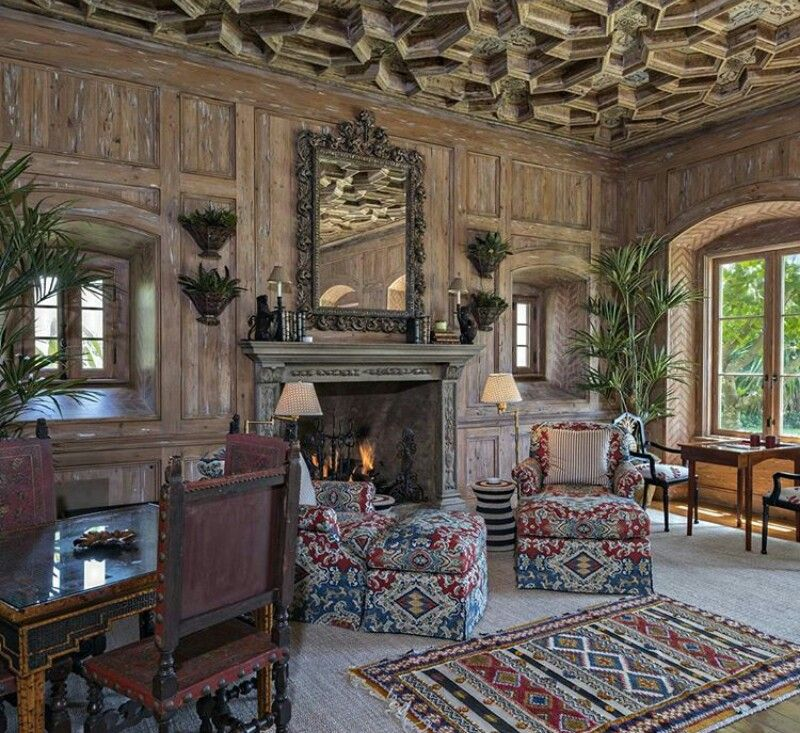 Luxus Loft, Schlafzimmer, Palm Beach, Entwurf, Moda