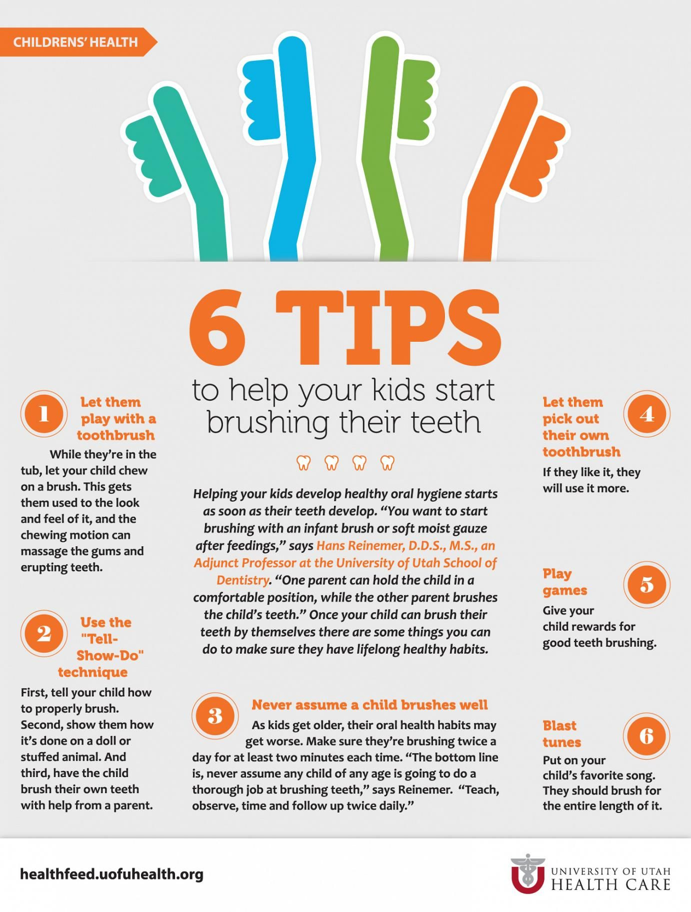 Tips For Tooth Brushing