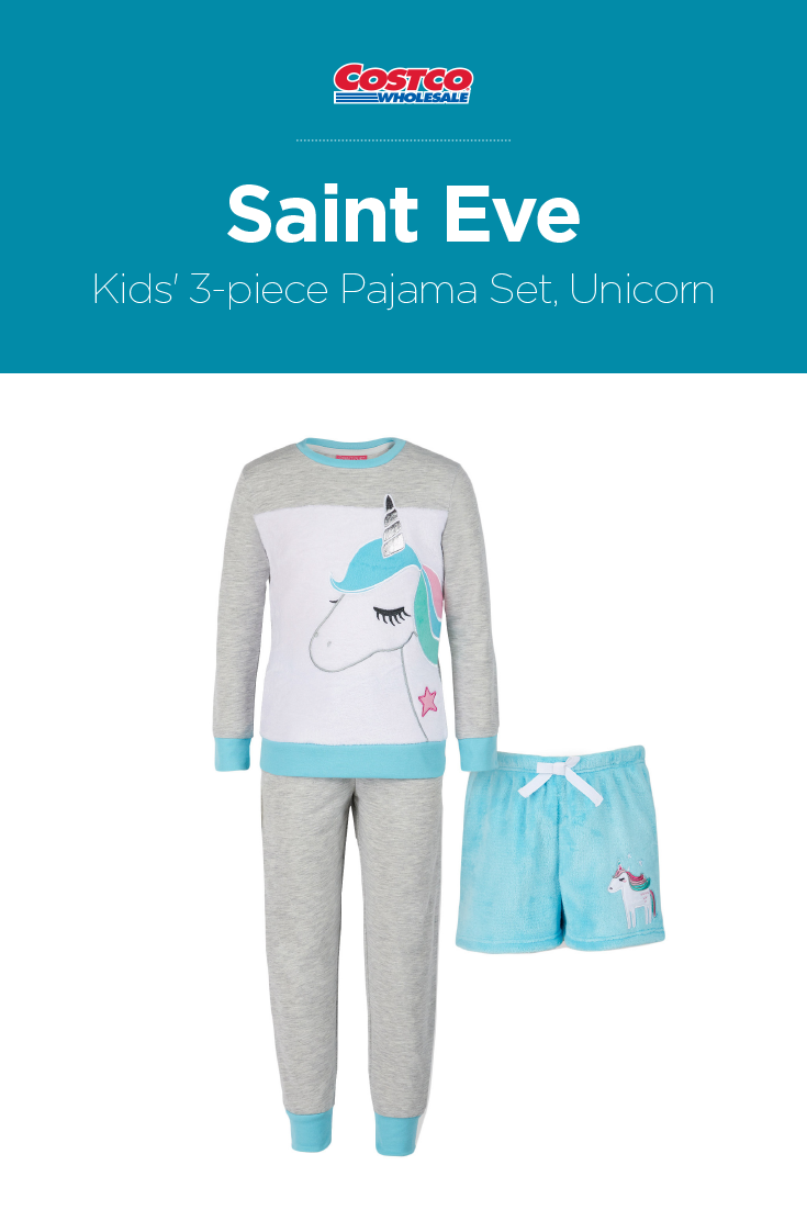 afec02c58 Saint Eve Kids  3-piece Pajama Set